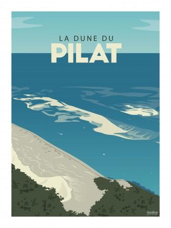 Affiche 30x40 - Dune du pilat
