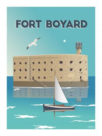 Affiche 30x40 - Holiday - fort boyard