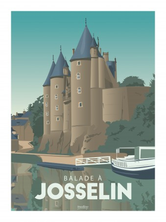 Affiche 30x40 - Holidays - josselin