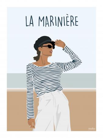 Affiche 30x40 - La mariniere