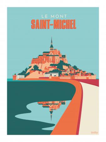 Affiche 30x40 - Le mont