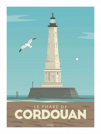 Affiche 30x40 - Le phare de cordouan