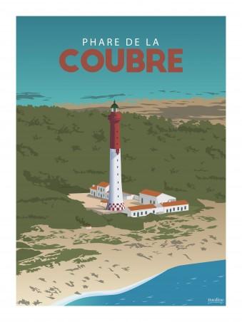 Affiche 30x40 - Le phare de la coubre