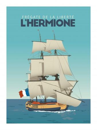 Affiche 30x40 - L'hermione