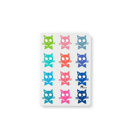 Note Book 10x15 - Marine b - chats
