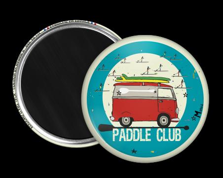 Magnet rond - Marine b - paddle club