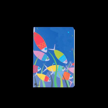 Note Book 10x15 - Marine b - poissons