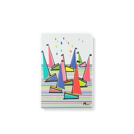 Note Book 10x15 - Marine b - voiliers