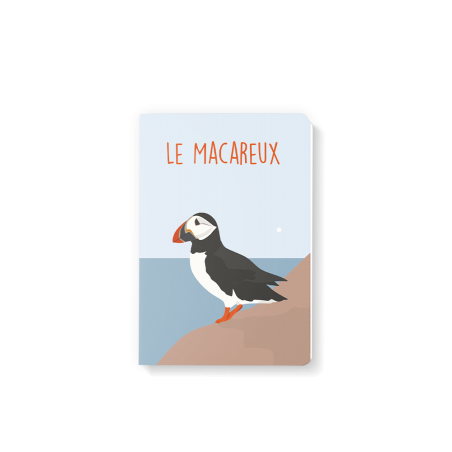 Note Book 10x15 - Pauline - le macareux