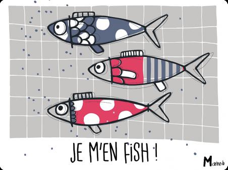 Sets plastifies - Marine b - je m'en fish